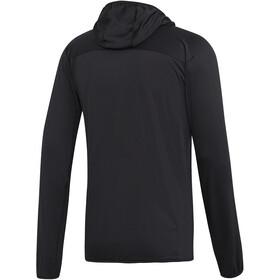 adidas TERREX TraceRocker Chaqueta polar con capucha Hombre, black